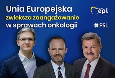 Unia Europejska zwiększa zaangażowanie w sprawach onkologii